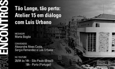 Cartaz FAU Encontros Marta Bogea