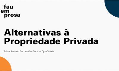 Cartaz fau em prosa alternativa à proprieade privada