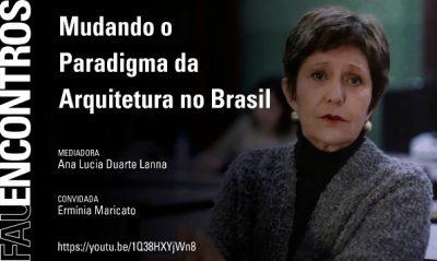FAU ENCONTROS_Ana Lanna e Erminia Maricato